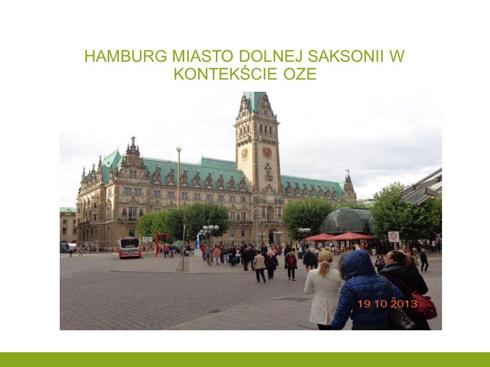 Hamburg miasto dolnej saksonii w kontekście oze