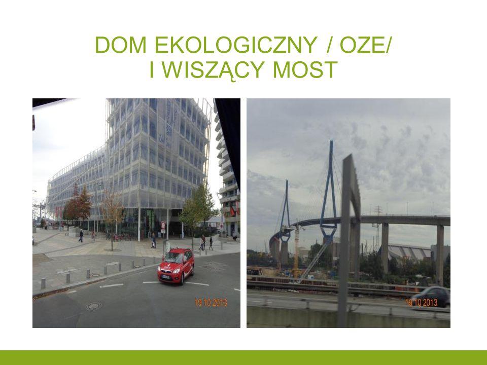 Dom ekologiczny / oze/ i wiszący most