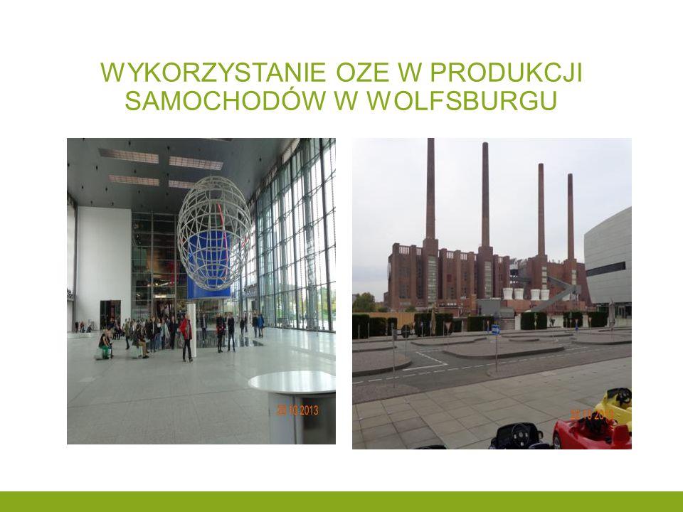 Wykorzystanie oze w produkcji samochodów w wolfsburgu