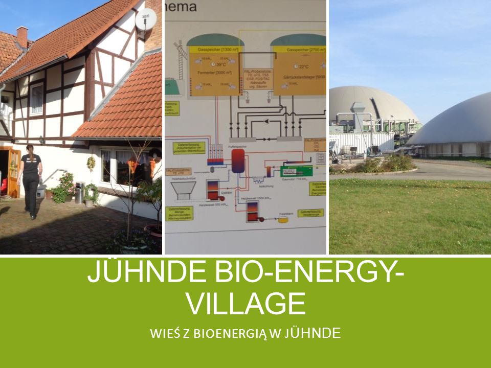 Jühnde bio-energy- village
