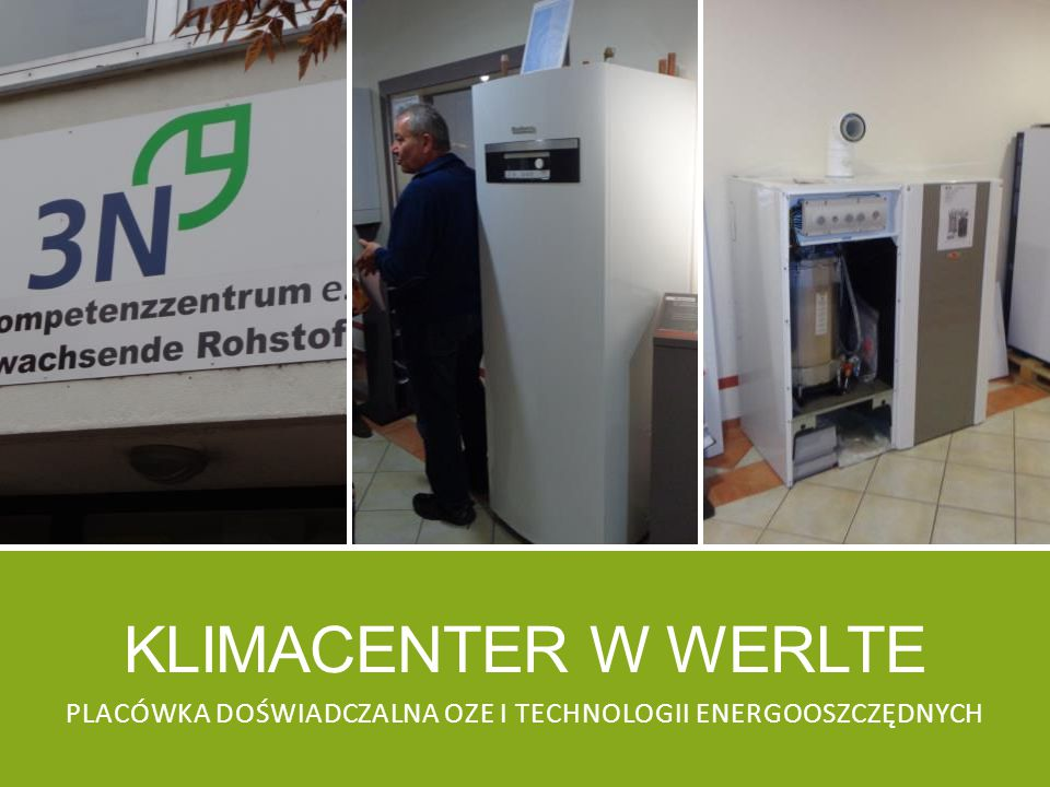 Placówka doświadczalna oze i technologii energooszczędnych