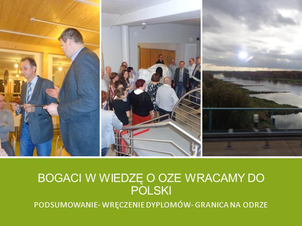 Bogaci w wiedzę o oze wracamy do polski