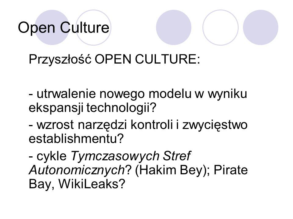 Open Culture Przyszłość OPEN CULTURE: