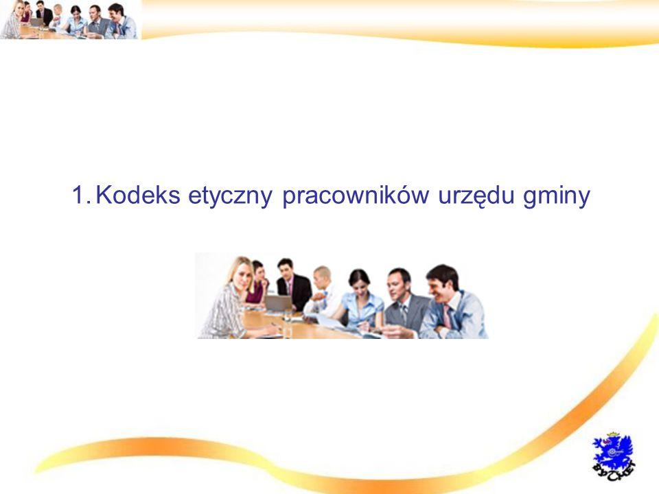 Kodeks etyczny pracowników urzędu gminy