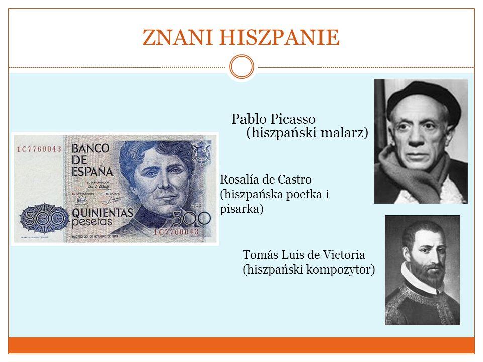 ZNANI HISZPANIE Pablo Picasso (hiszpański malarz)