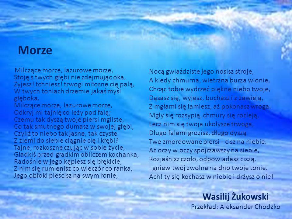Wasilij Żukowski Przekład: Aleksander Chodźko