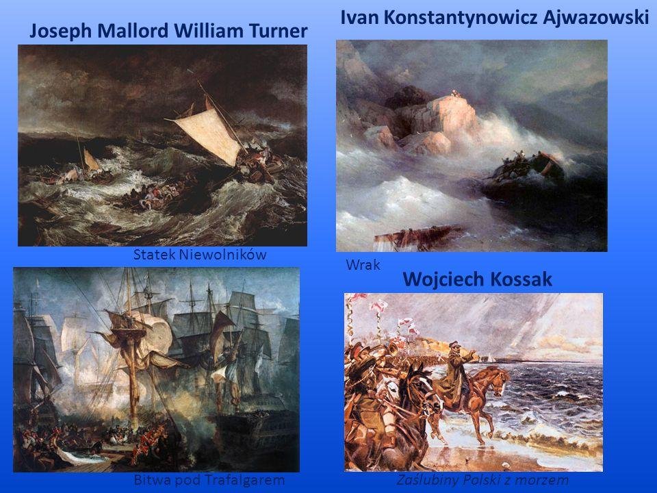 Ivan Konstantynowicz Ajwazowski Joseph Mallord William Turner