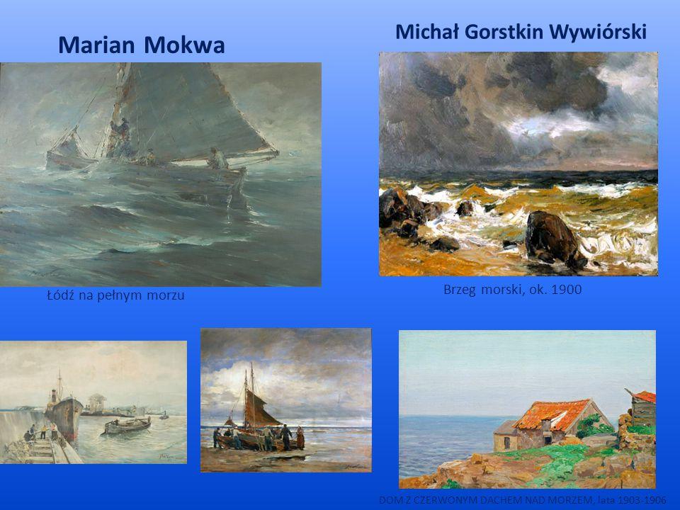 Marian Mokwa Michał Gorstkin Wywiórski Brzeg morski, ok. 1900