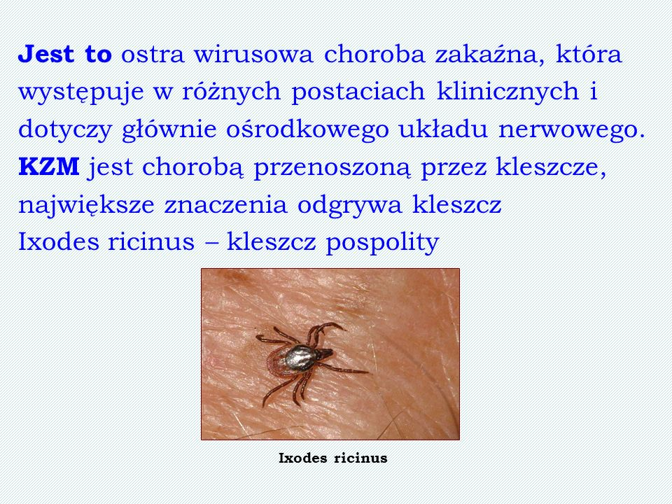 Jest to ostra wirusowa choroba zakaźna, która