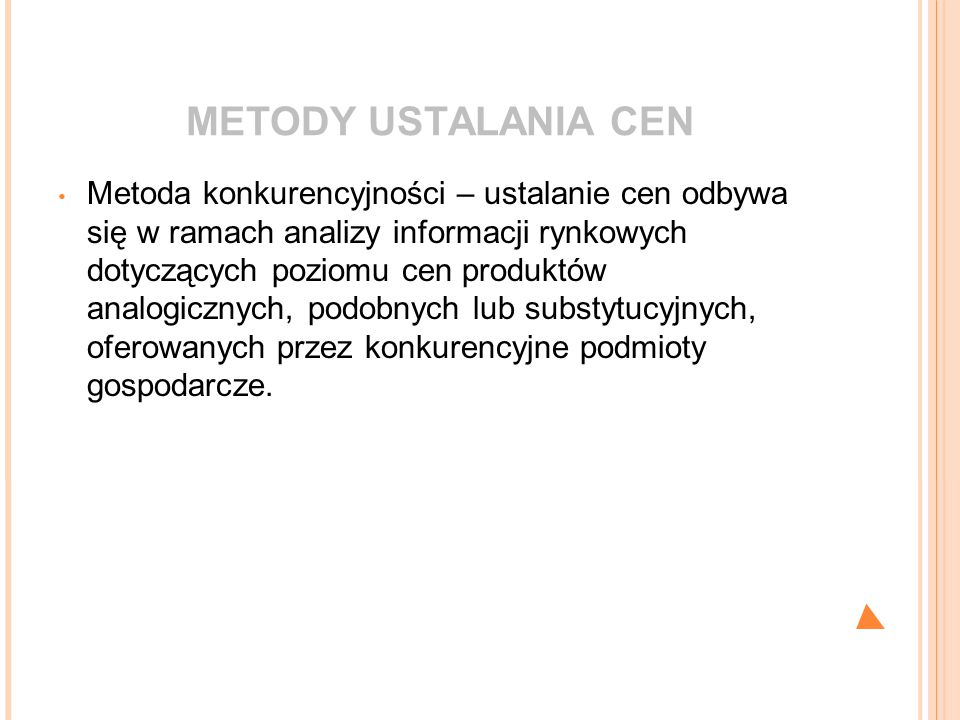 METODY USTALANIA CEN