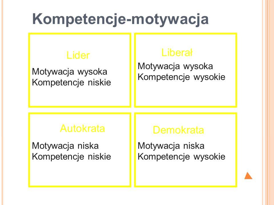Kompetencje-motywacja