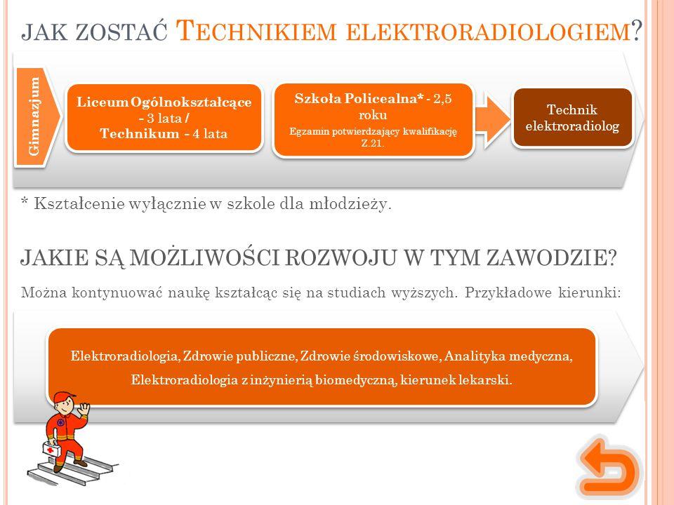 jak zostać Technikiem elektroradiologiem