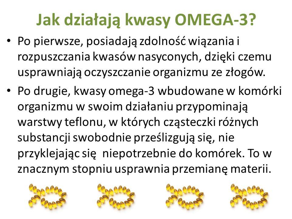 Jak działają kwasy OMEGA-3