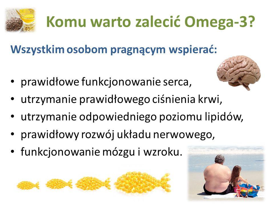 Komu warto zalecić Omega-3