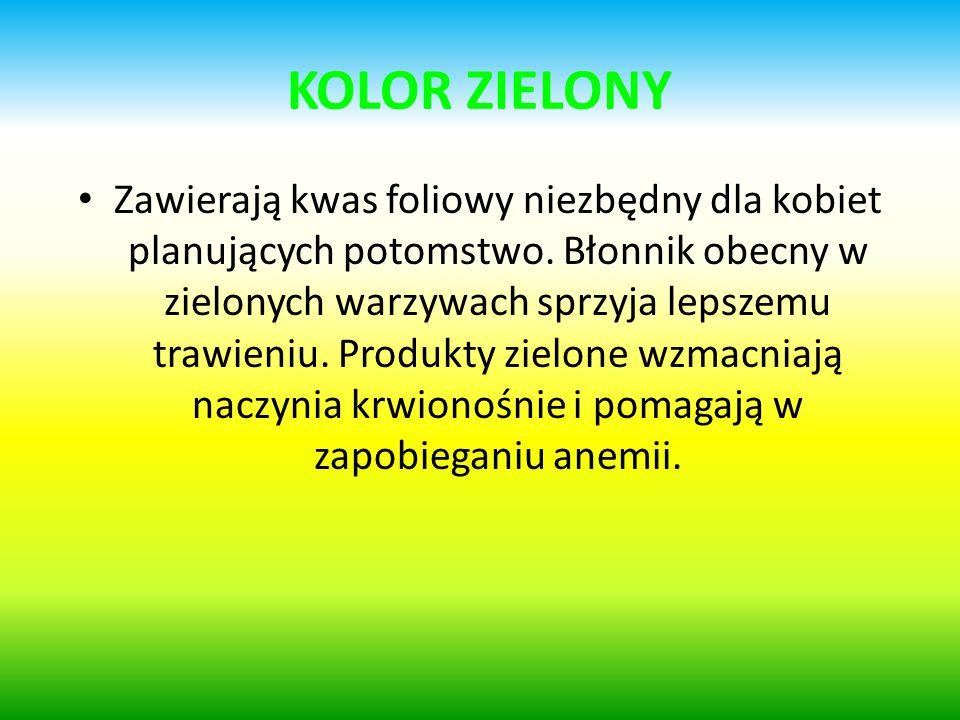 KOLOR ZIELONY