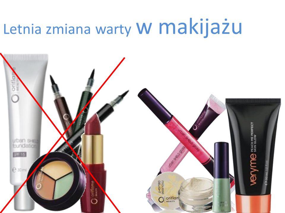 Letnia zmiana warty w makijażu