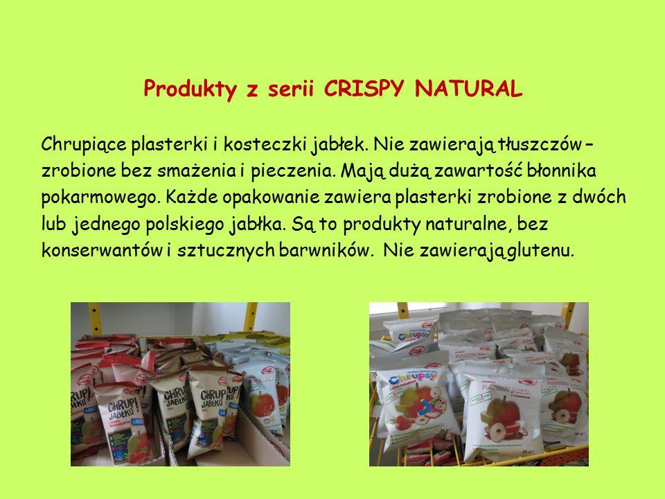 Produkty z serii CRISPY NATURAL