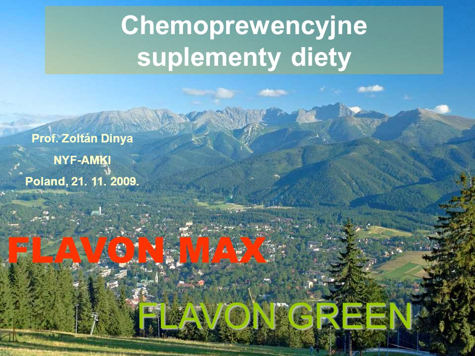 Chemoprewencyjne suplementy diety