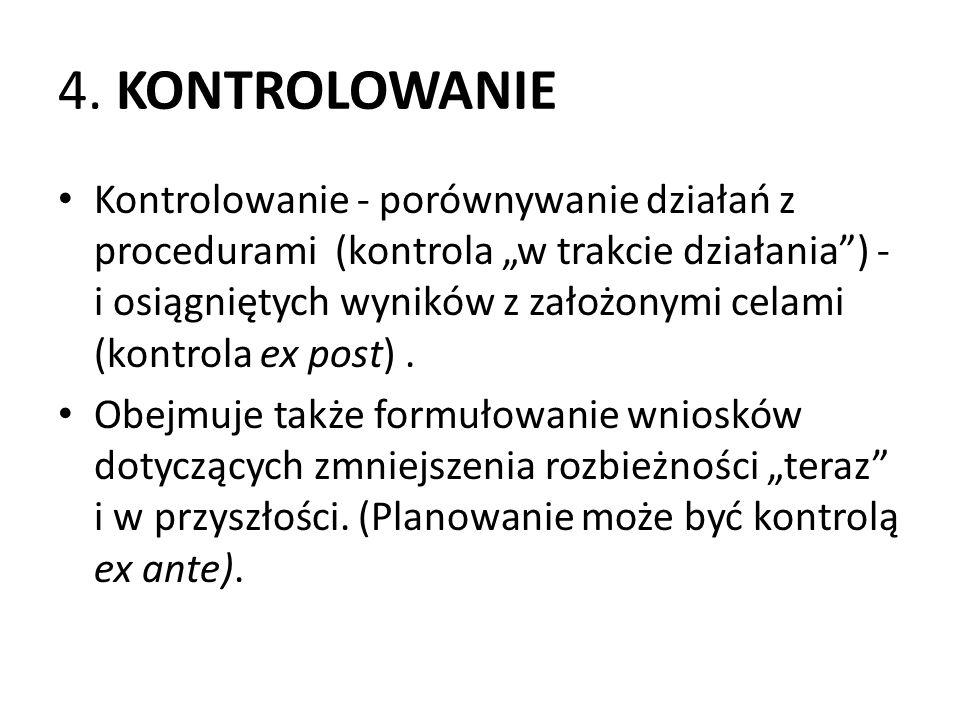 4. KONTROLOWANIE