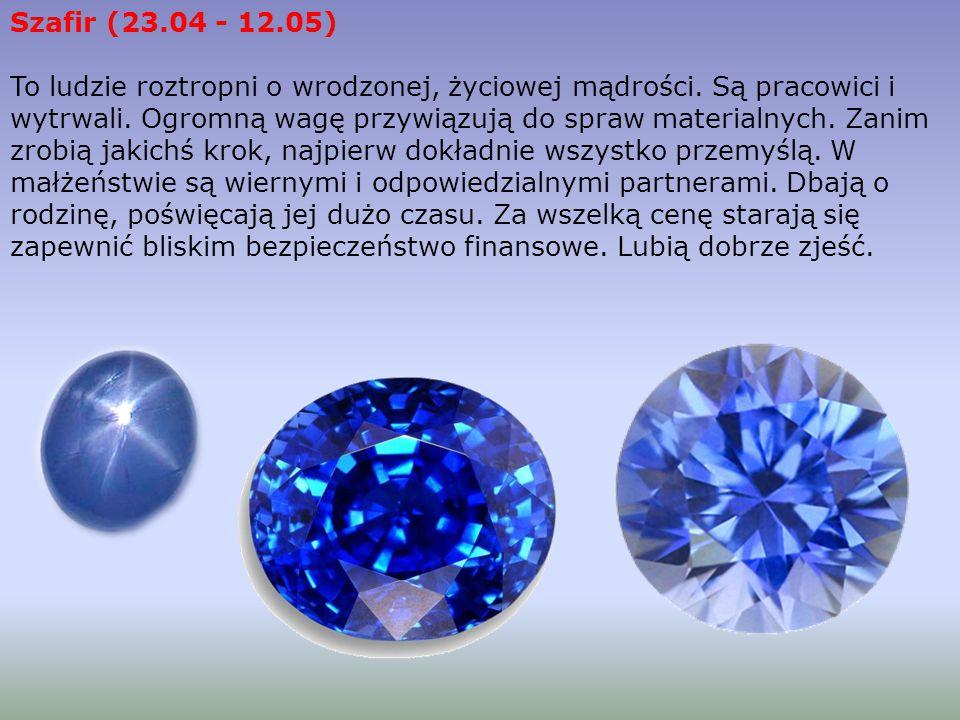 Szafir (23.04 - 12.05)