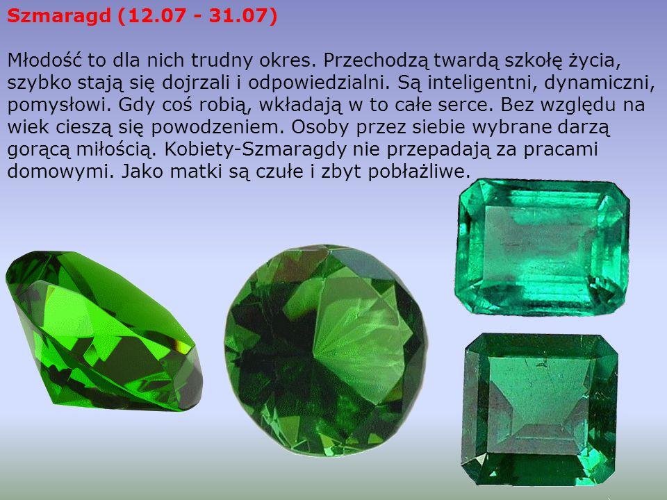 Szmaragd (12.07 - 31.07)