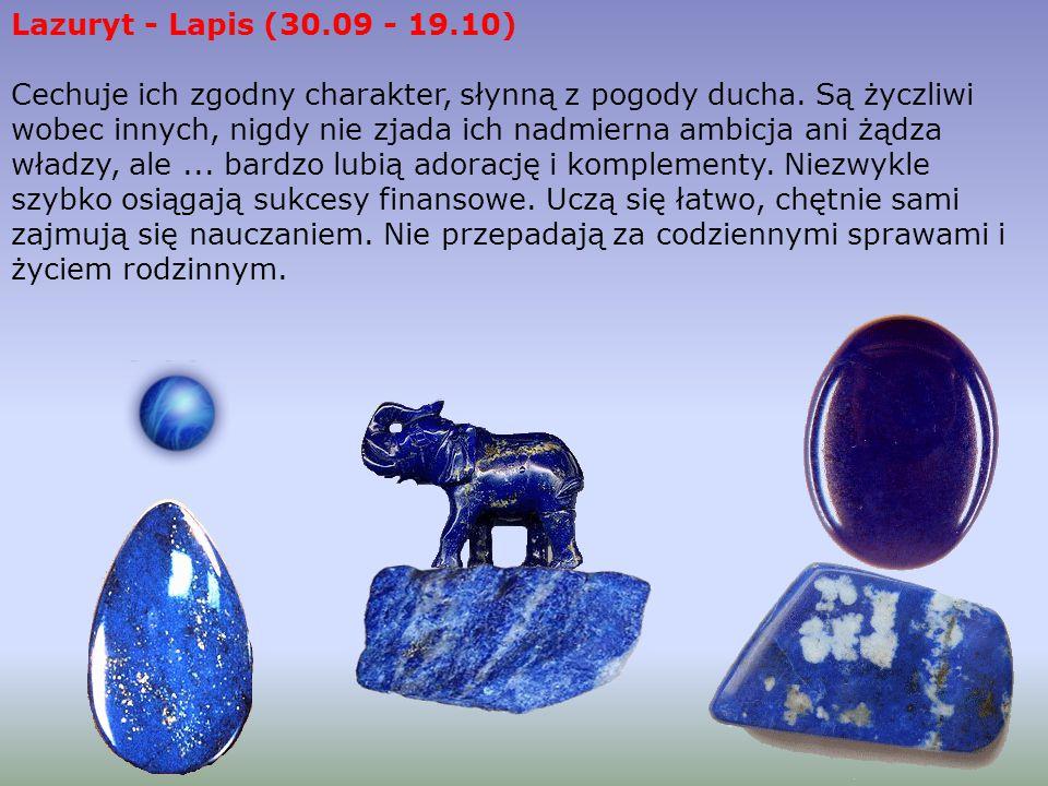 Lazuryt - Lapis (30.09 - 19.10)
