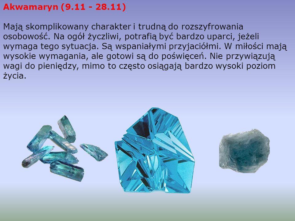 Akwamaryn (9.11 - 28.11)