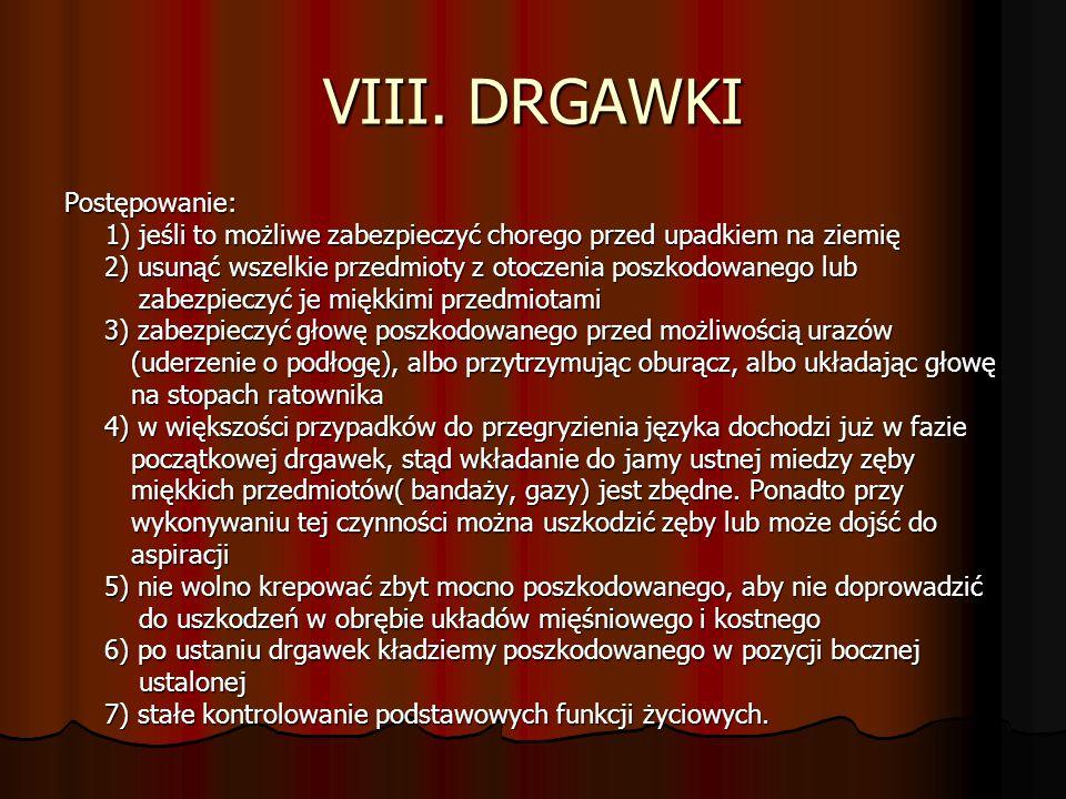 VIII. DRGAWKI Postępowanie: