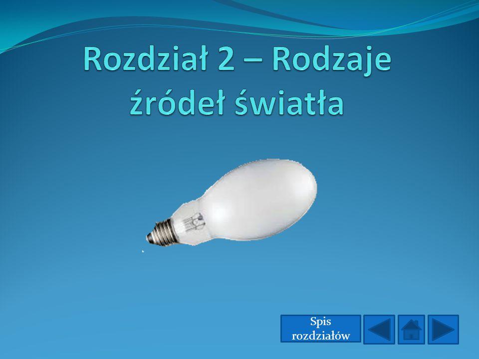 Rozdział 2 – Rodzaje źródeł światła