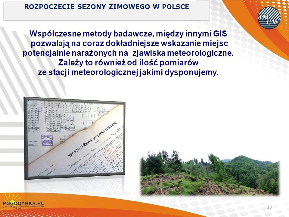 ROZPOCZECIE SEZONY ZIMOWEGO W POLSCE