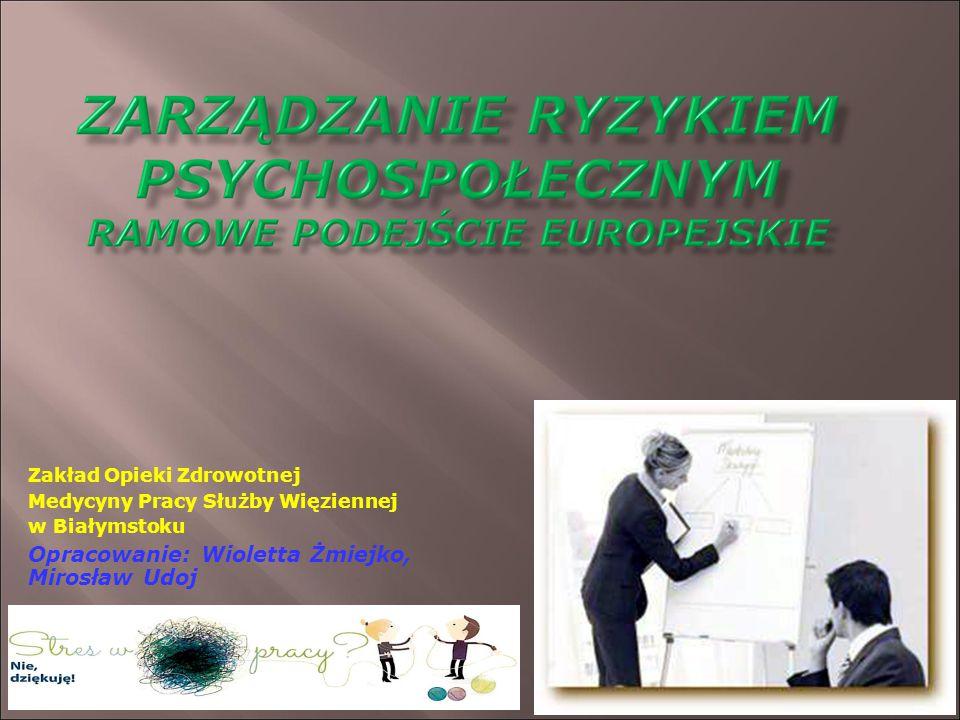 Opracowanie: Wioletta Żmiejko, Mirosław Udoj