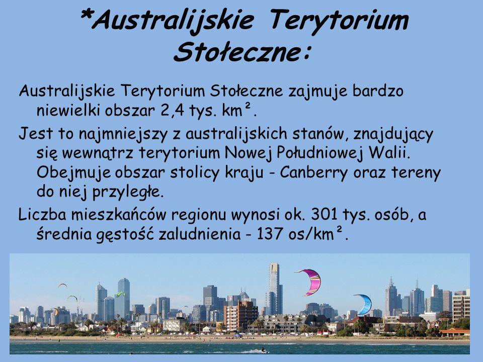 *Australijskie Terytorium Stołeczne: