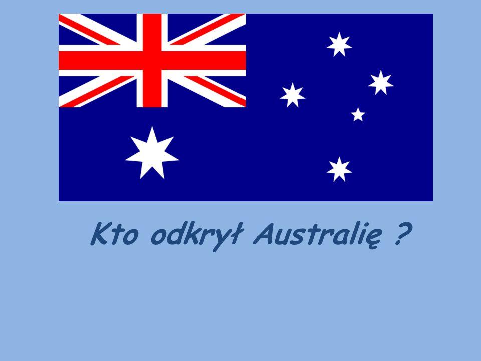 Kto odkrył Australię