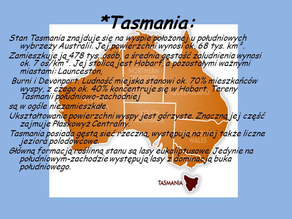 *Tasmania: