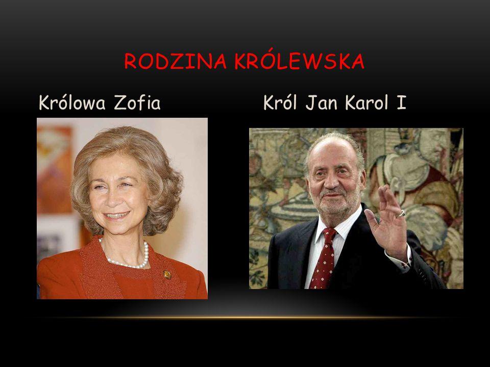 Rodzina Królewska Królowa Zofia Król Jan Karol I