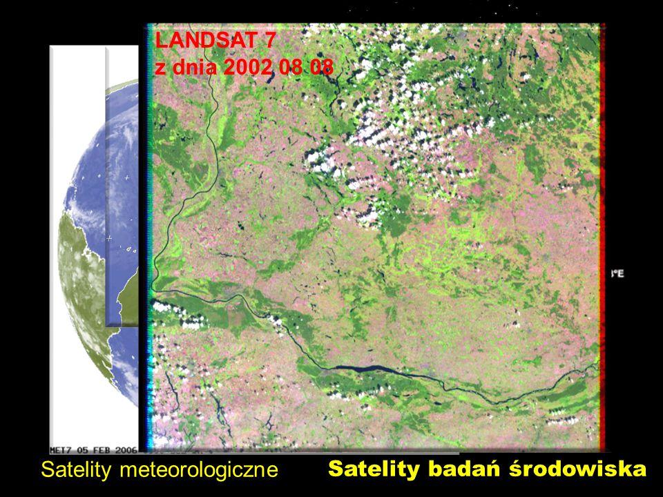 Satelity meteorologiczne Satelity badań środowiska