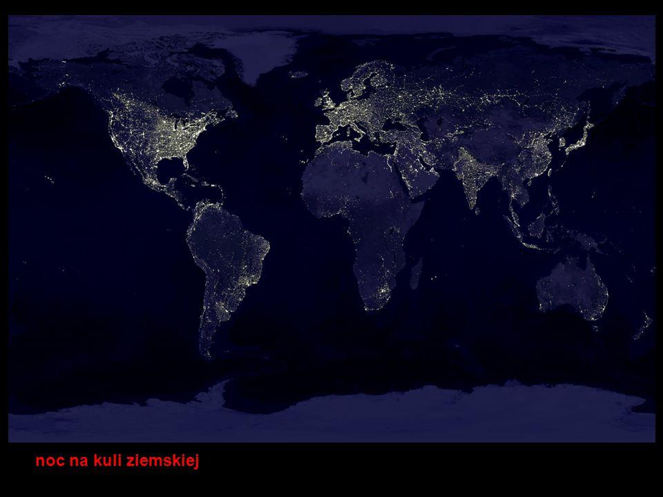 noc na kuli ziemskiej Instytut Geografii i Gospodarki Przestrzennej