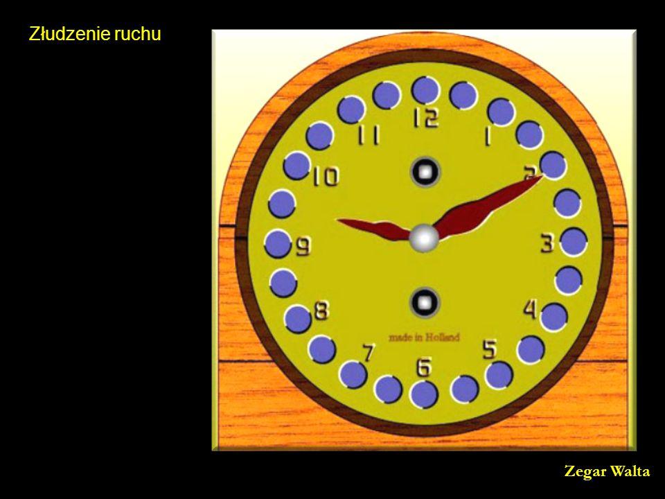 Złudzenie ruchu Zegar Walta