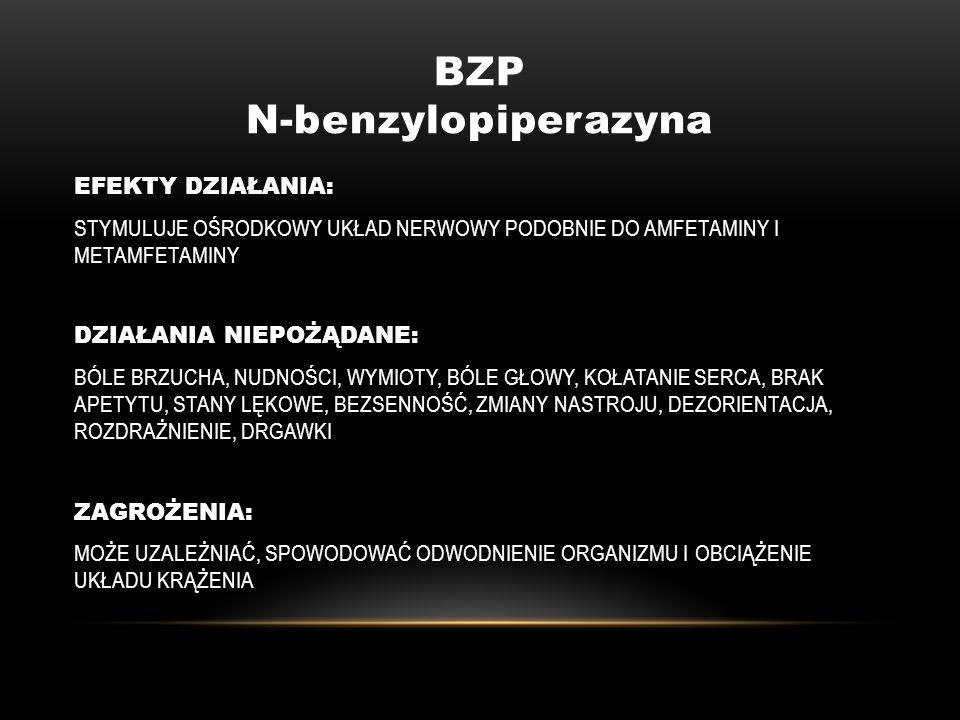 BZP N-benzylopiperazyna