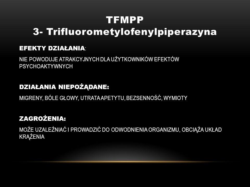 TFMPP 3- Trifluorometylofenylpiperazyna
