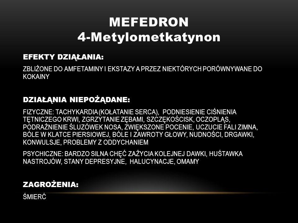 MEFEDRON 4-Metylometkatynon