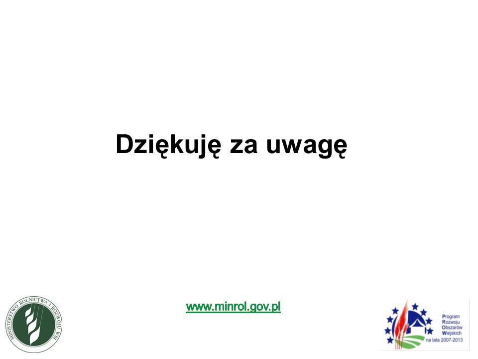 Dziękuję za uwagę www.minrol.gov.pl 15