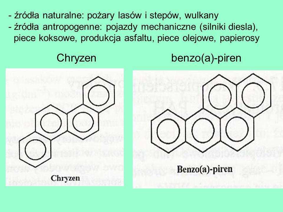 Chryzen benzo(a)-piren