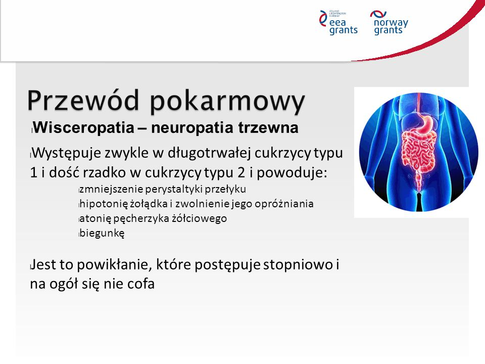 Wisceropatia – neuropatia trzewna