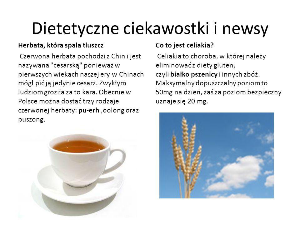 Dietetyczne ciekawostki i newsy