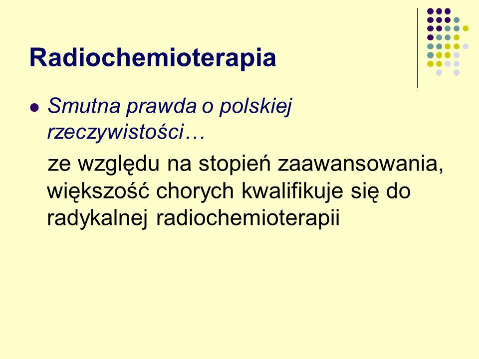 Radiochemioterapia Smutna prawda o polskiej rzeczywistości…