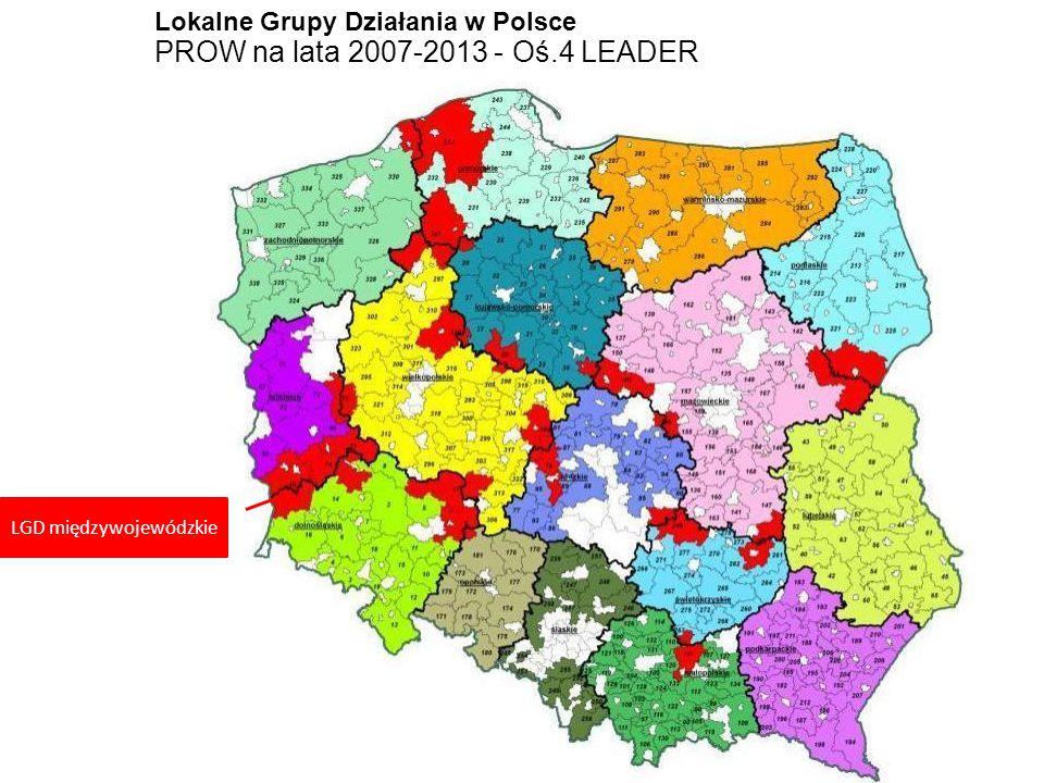LGD międzywojewódzkie