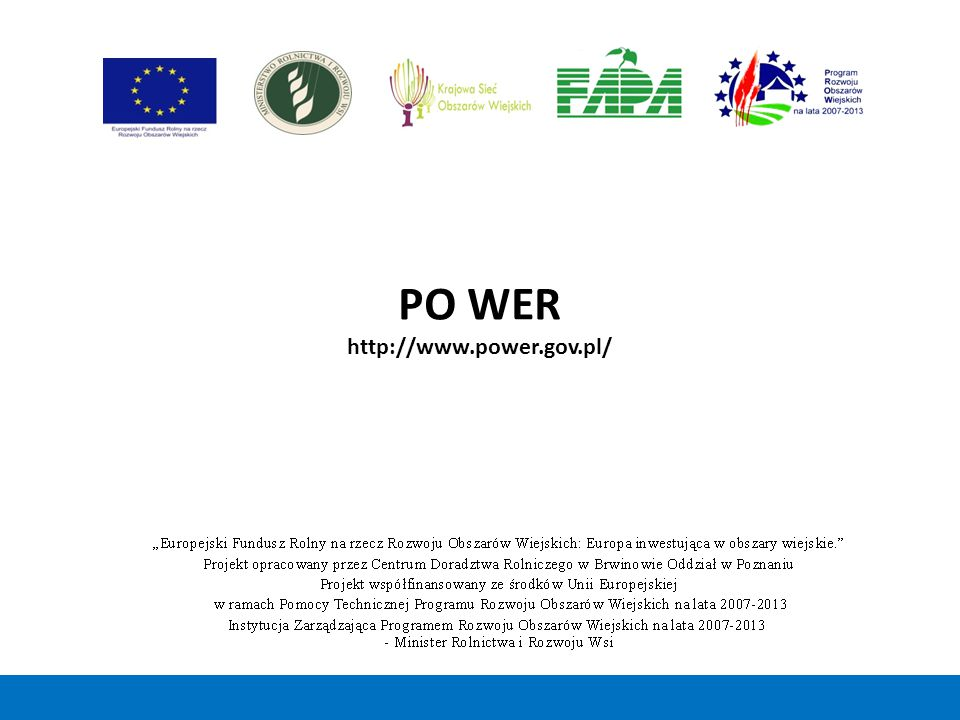 PO WER http://www.power.gov.pl/ 36 36