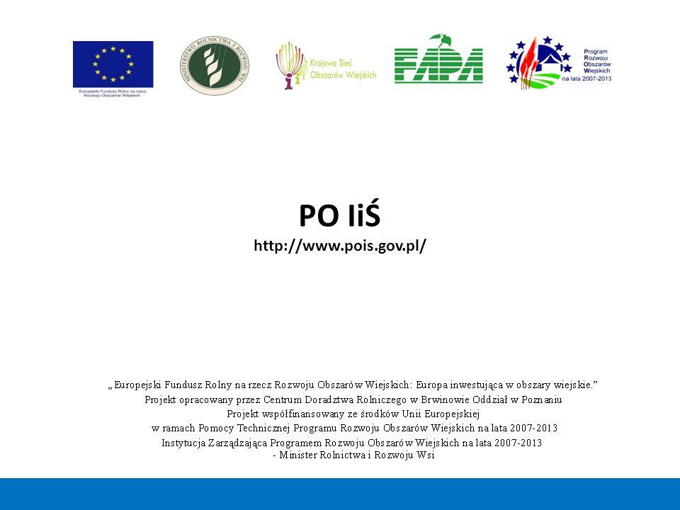 PO IiŚ http://www.pois.gov.pl/ 48 48