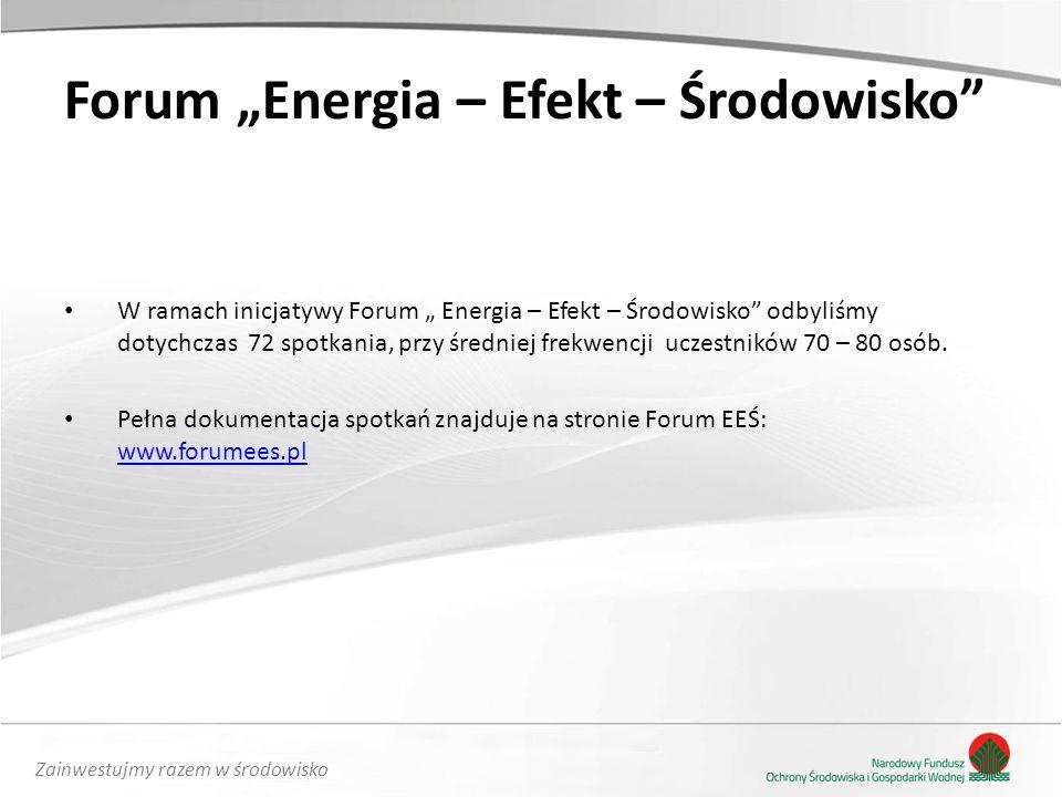 """Forum """"Energia – Efekt – Środowisko"""
